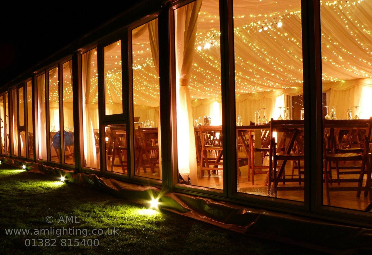 Marquee Fairy Lights and Exterior Lighti
