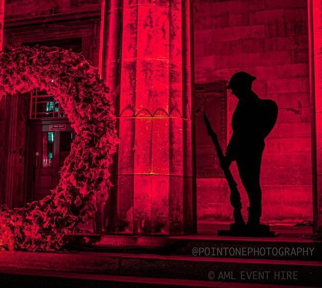 Rememberance at High School of Dundee