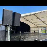 AML Event Hire - QSC K10.2 Speakers
