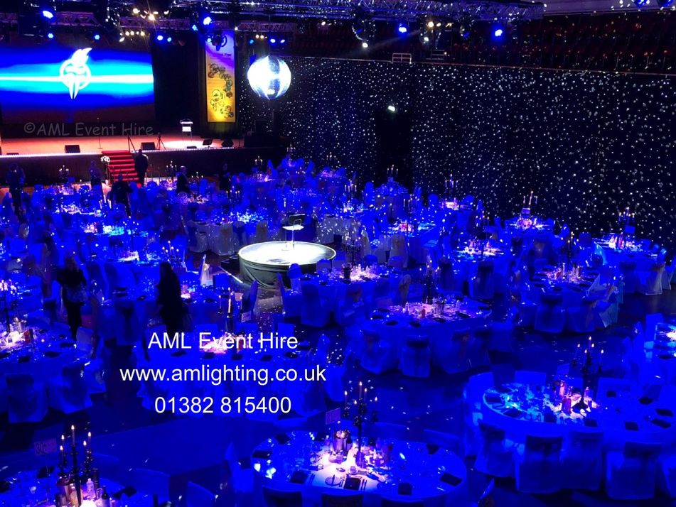 AML Event Hire - Caird Hall Star Cloth a
