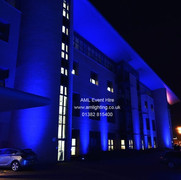 Building Lighting at NCR Dundee for MND