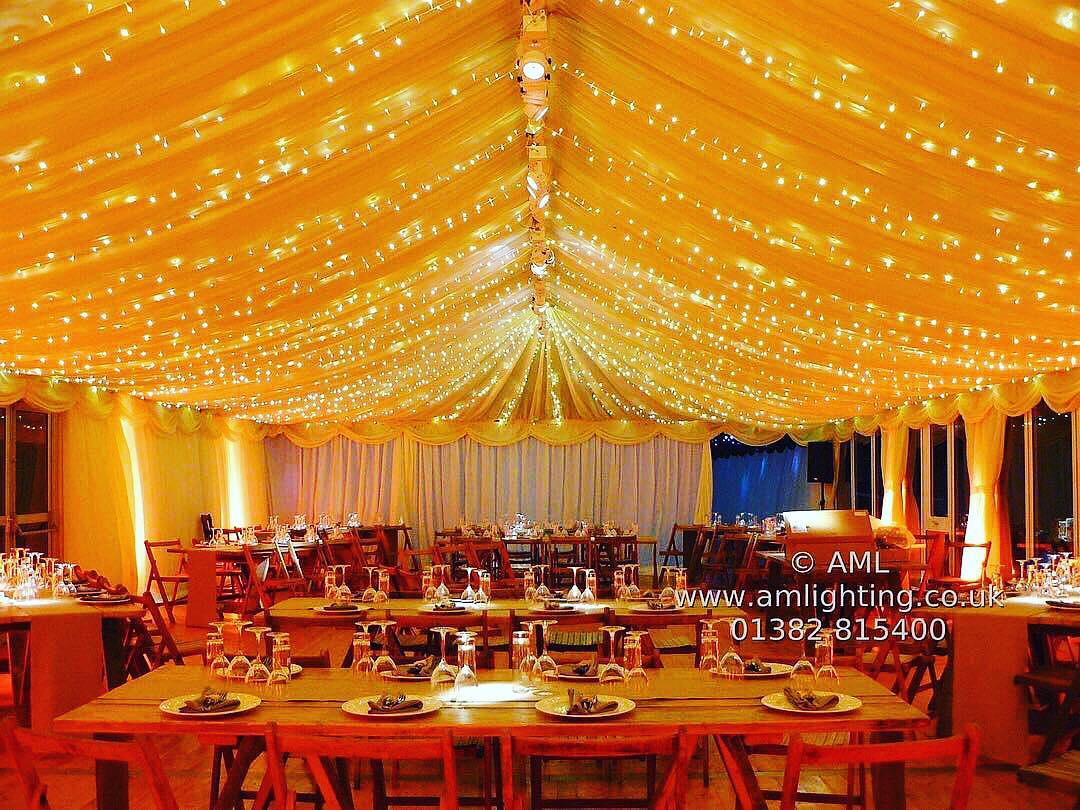 AML Fairy Light Canopy in Marquee
