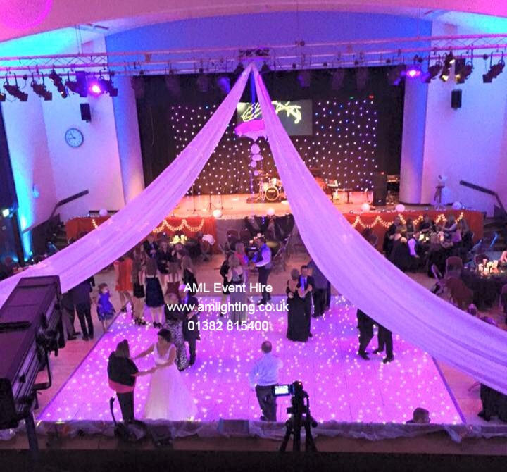Wedding at Montrose Town Hall