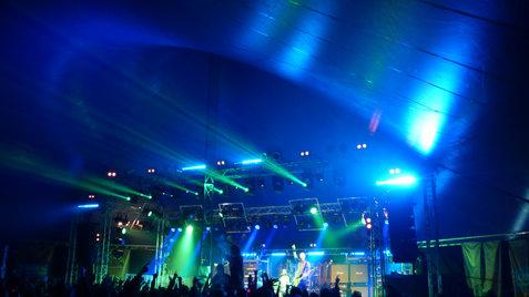 Music Concert Lighting & Truss Stage