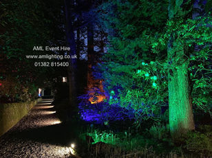 LED Garden Lighting for Wedding
