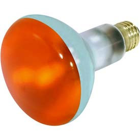 Satco Orange Incandescent Bulb