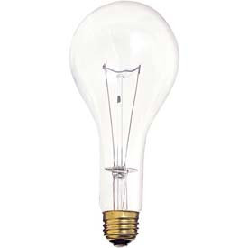 Satco Clear Incandescent Bulb
