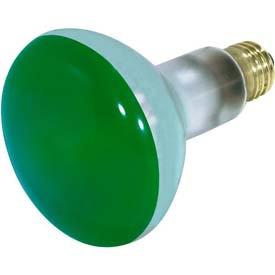 Satco Green Incandescent Bulb
