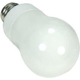 Satco A-Type 15 Watt CFL Bulb