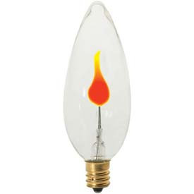 Satco Flicker Incandescent Bulb