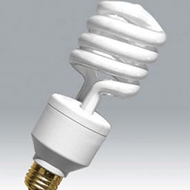 Ushio Coil Standard Base CFL Bulb