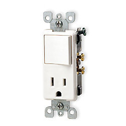 LEVITON Wall Switch-Receptacle