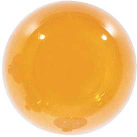 Satco Orange Globe Incandescent Bulb
