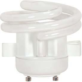 Satco Spiral Squat Twist & Turn CFL Bulb