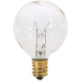 Satco G12 Globe Incandescent Bulb