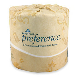GEORGIA PACIFIC Toilet Paper - Preference