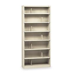 TENNSCO Steel Bookcase - 7 Shelves