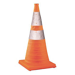 TOLCO Collapsable Orange Traffic Cone