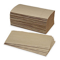SKILCRAFT Paper Towel - Single Fold, Brown