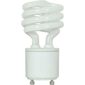 Satco Spiral Twist & Turn CFL Bulb