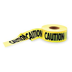 Barricade Tape - Yellow/Black