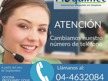 Nuevo número - Oficina Guayaquil