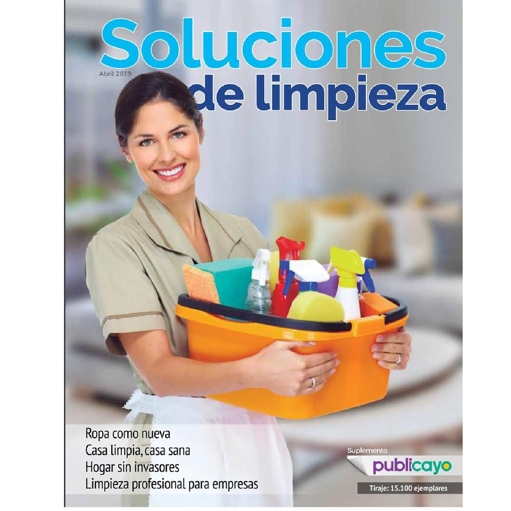 Revista Soluciones de Limpieza - Diario El Comercio Domingo 07 de Abril -Proquiimec