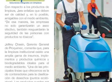 Proquimec en Diario El Comercio