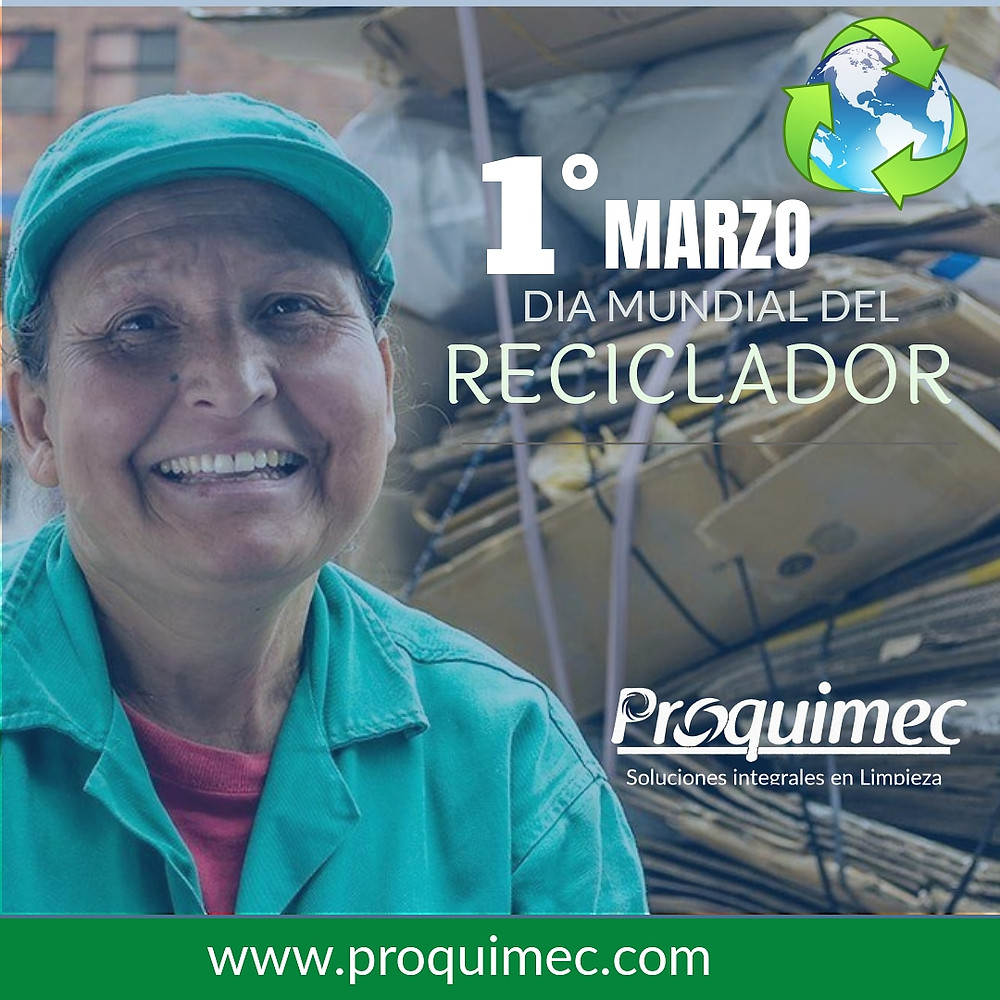 Dia del reciclador Proquimec