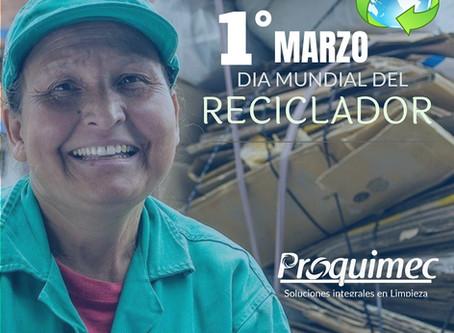 1º de Marzo Día del Reciclador