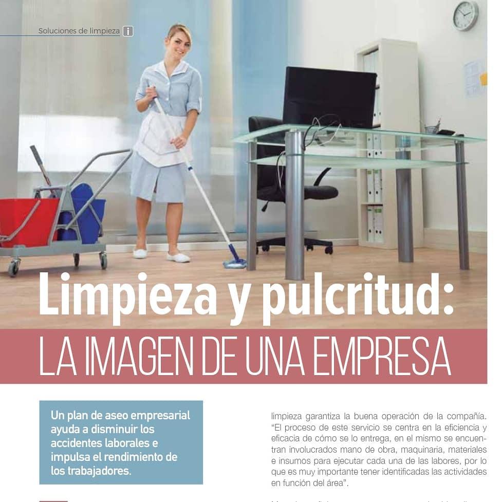 Proquimec en Revista Soluciones de Limpieza