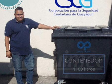 Nuestros contenedores en la CSCG