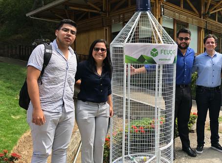 Campaña de Reciclaje en Universidad Catòlica