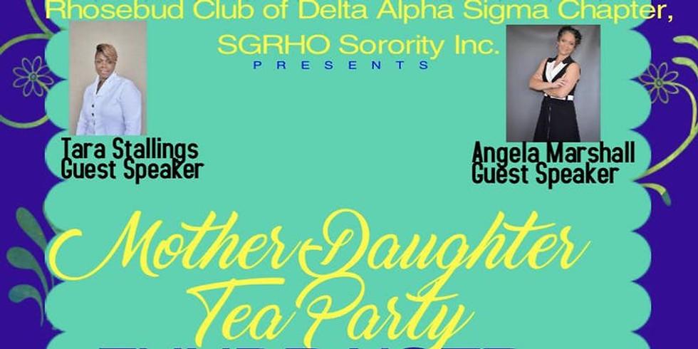 Mother-Daughter Tea (guest speaker)