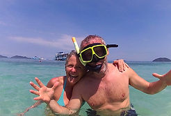 Snorkeling around the kohchang