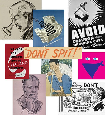 Don't Spit! Pandemic Posters Through the Years