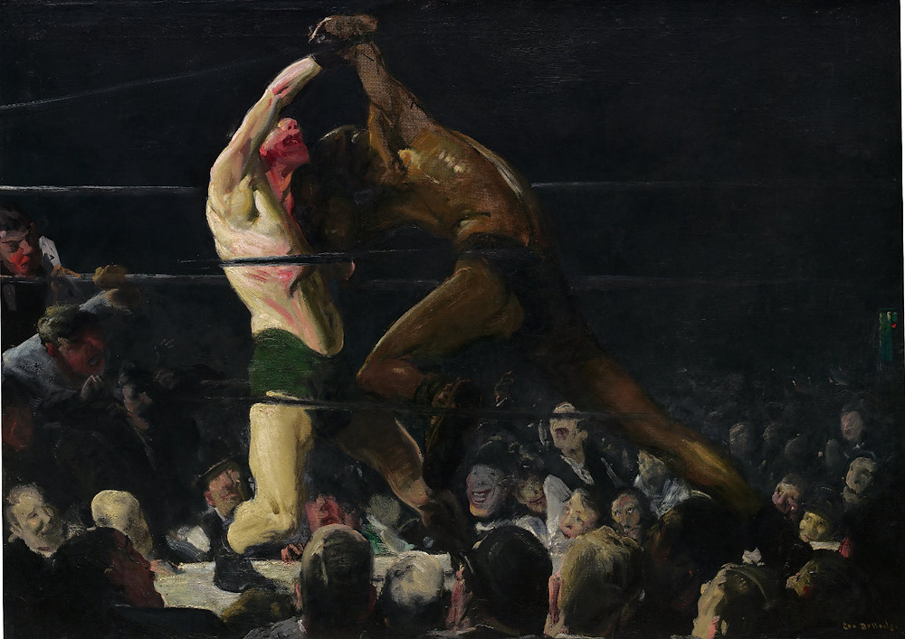 Both Members of This Club by George Bellows