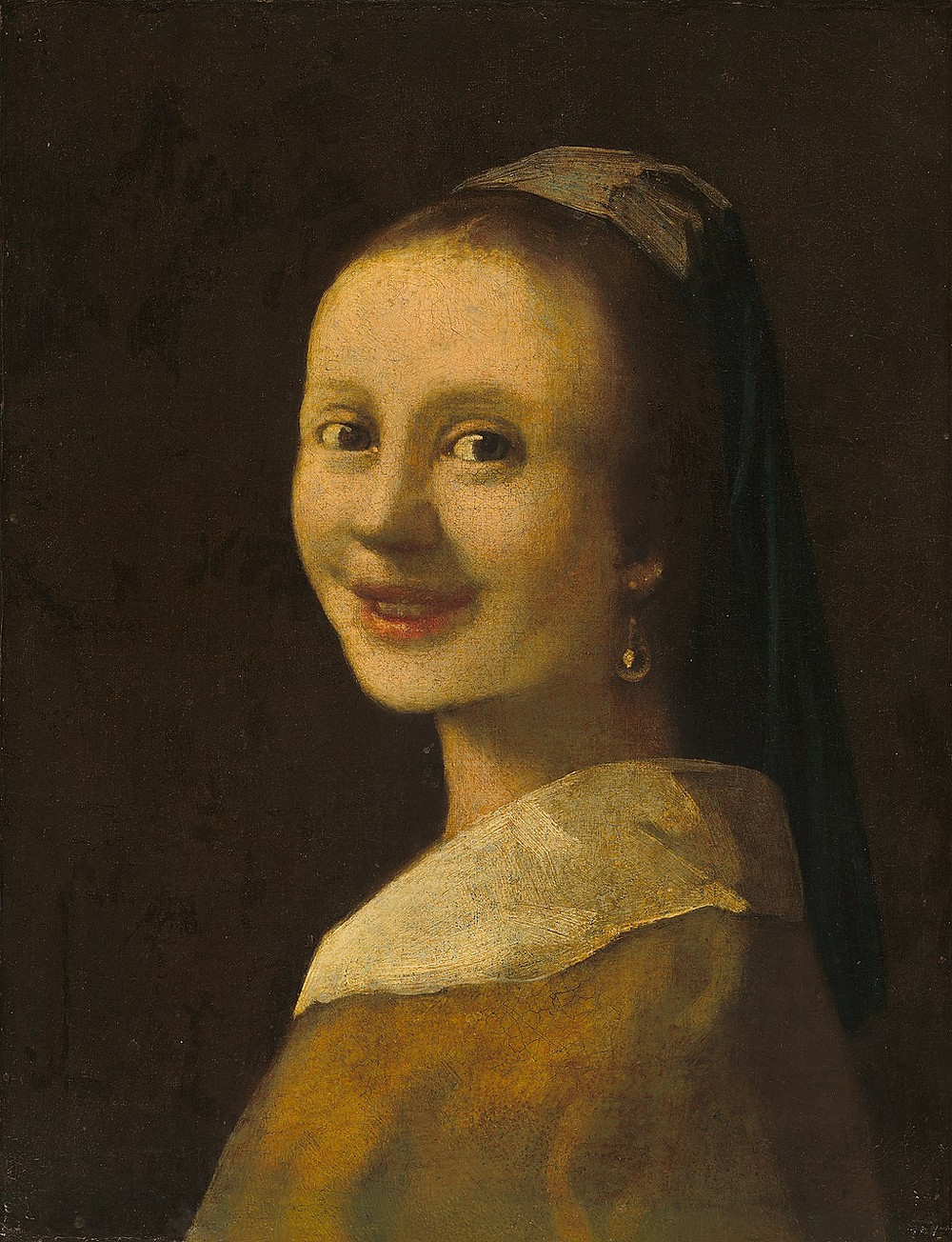Smiling Girl possible forgery