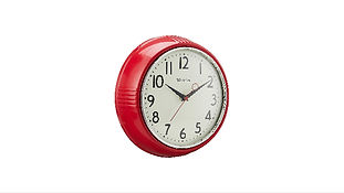 Westclox 32042R Retro 1950 Kitchen Clock