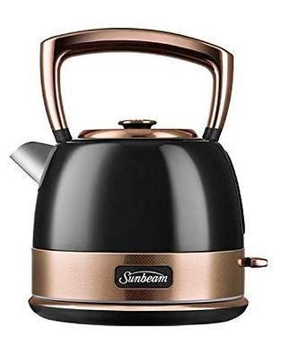 Sunbeam New York Collection Kettle Black and Bronze