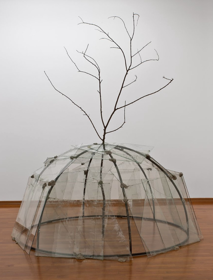 Igloo with Tree by Mario Merz