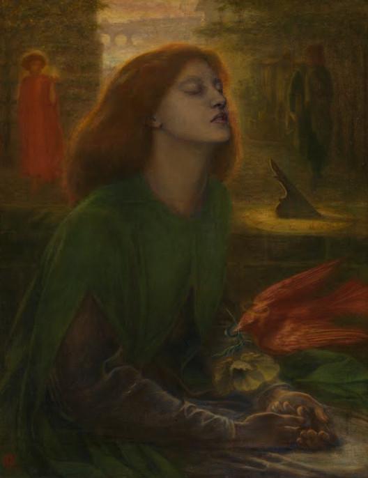 Beata Beatrix by Dante Rossetti