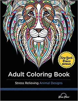 Adult Colouring Book : Stress Relieving Designs Animals, Mandalas, Flowers, Paisley Patterns