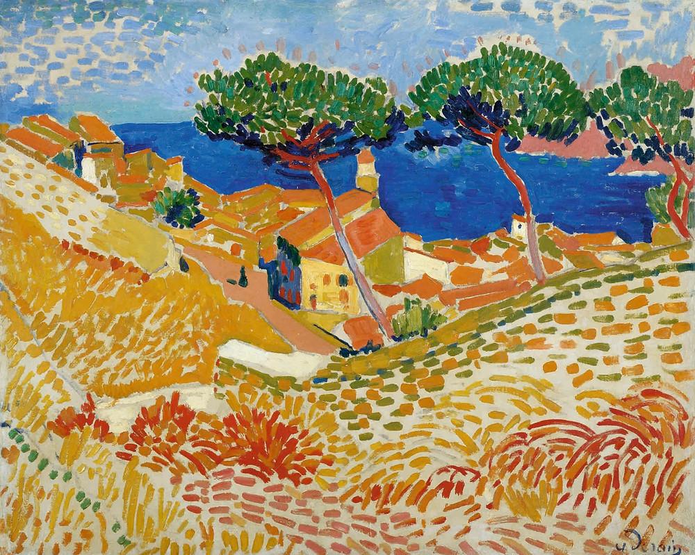 Vue de Collioure (View of Collioure) by Andre Derain