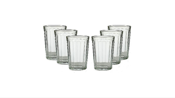 Russian Classic 20-facet Granyonyi Hot Tea Glass