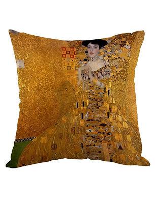 Moslion by Gustav Klimt pillow cover