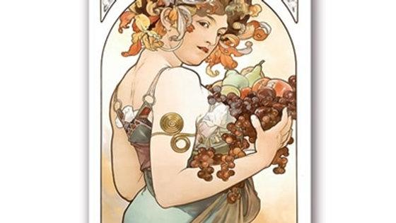 Alphonse Mucha Large Vintage Art Nouveau Posters