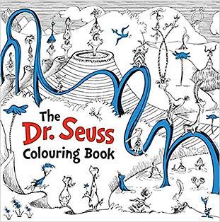 Dr Seuss Colouring Book