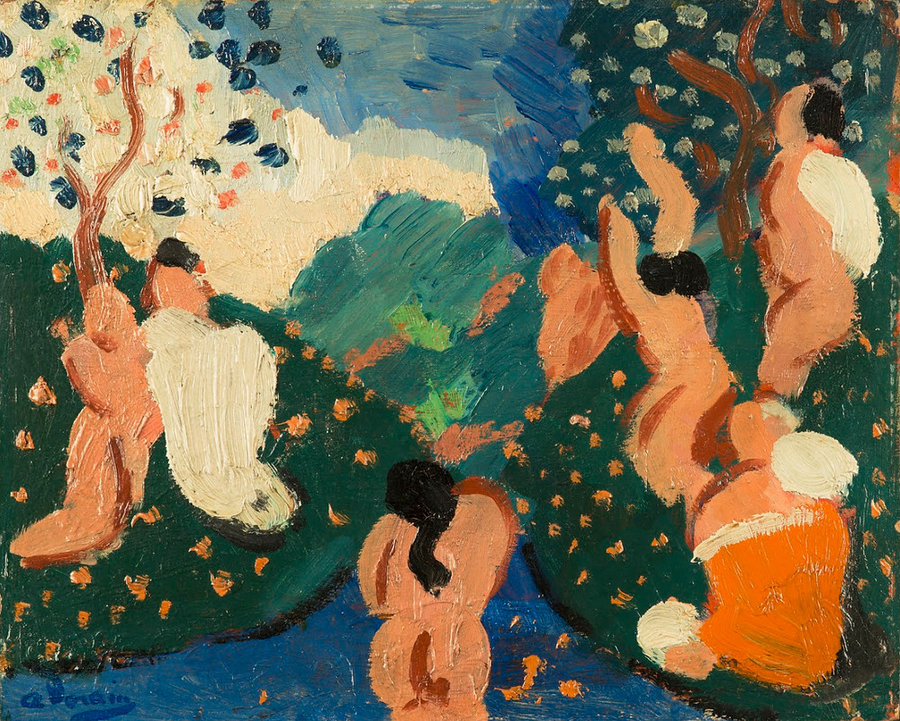 Classic Composition by Andre Derain
