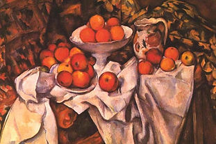 Cezanne Apples and Oranges Cool Wall Decor Art Print Poster